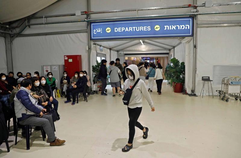 Hàng trăm khách du lịch Đông Á ở Israel sẽ được đưa về nước