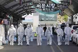 Số ca nhiễm coronavirus của Hàn Quốc lên 977, với 10 người chết