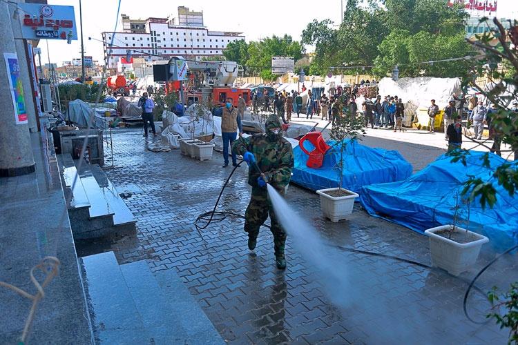 Iraq thực hiện lệnh cấm du lịch và đóng cửa nơi công cộng