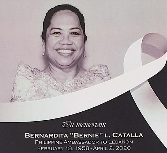Đại sứ Philippines tại Lebanon chết vì Covid-19