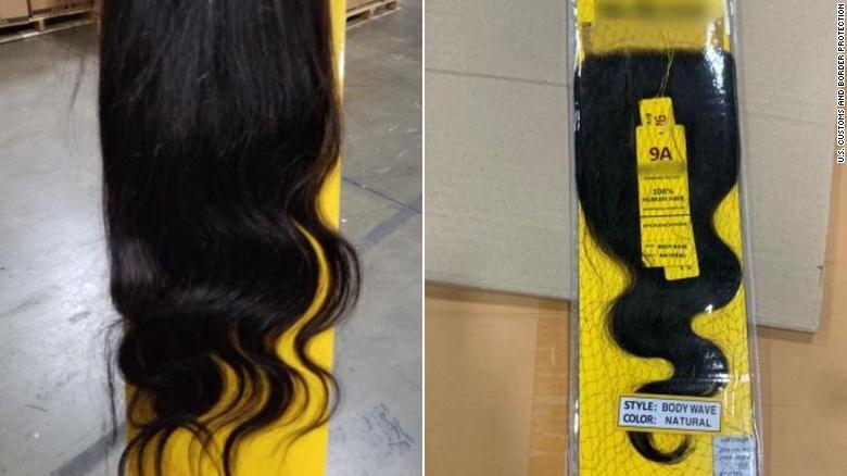 Lô hàng 13 tấn tóc người, có khả năng từ tù nhân Trung Quốc, bị bắt giữ