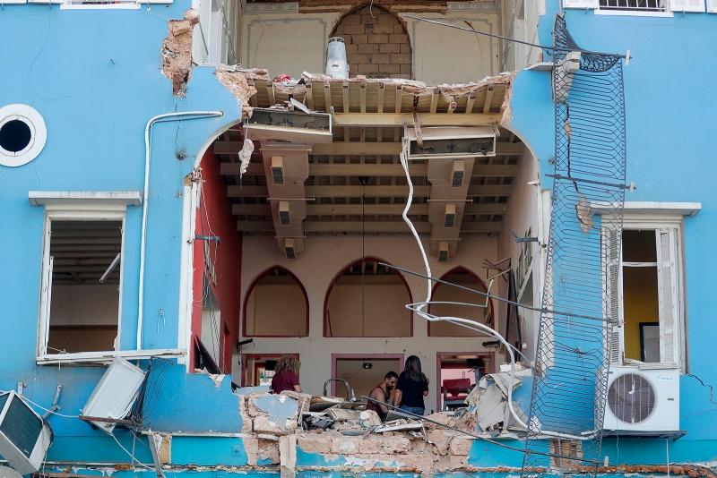 Một công dân Pháp chết và 24 người bị thương vì vụ nổ ở Lebanon