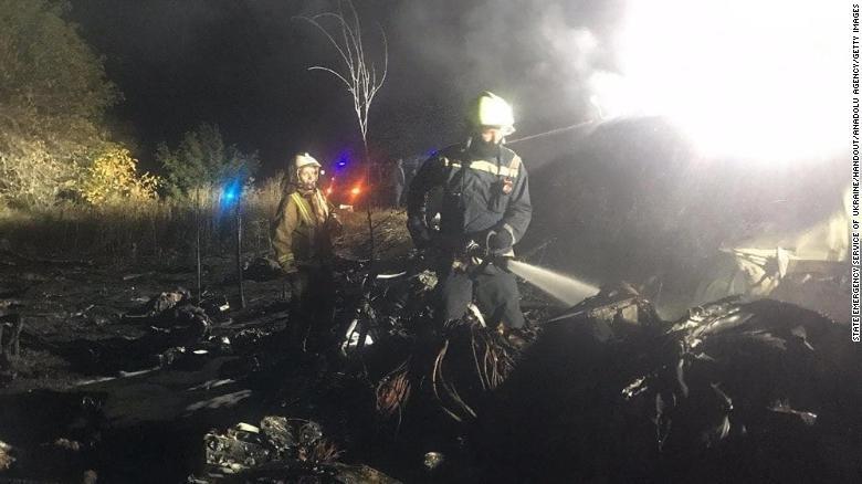 25 người thiệt mạng trong vụ rơi máy bay quân sự ở miền đông Ukraine