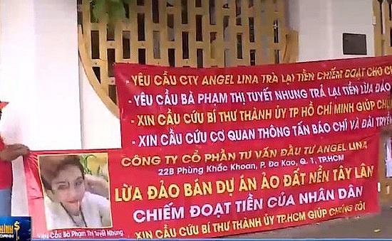dieu tra hanh vi lua dao ban 9 du an ma cua cong ty co phan tu van dau tu angel lina