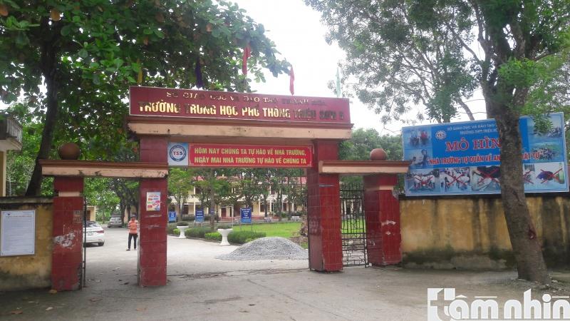 Thanh Hóa: Trường THPT Triệu Sơn 5 ngang nhiên tổ chức dạy học trong kỳ nghỉ hè