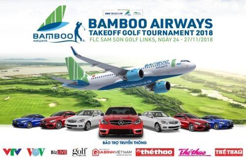 Bamboo Airways Golf Tournament 2018 lần đầu được tổ chức tại FLC Samson Golf Links