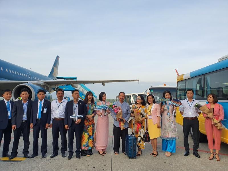 Hơn 120 hành khách từ TP Hồ Chí Minh xông đất Đà Nẵng trong ngày đầu năm Canh Tý