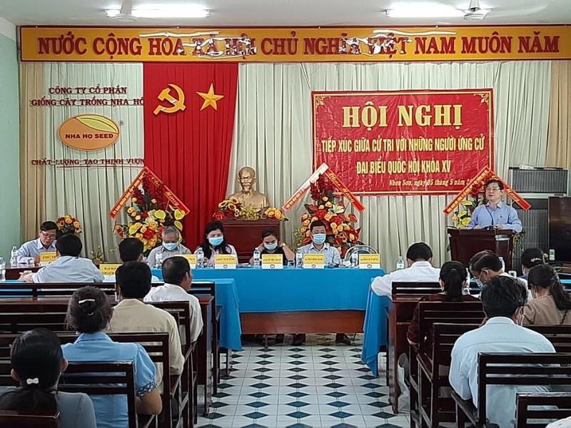 Ngày tiếp xúc cử tri thứ 2 của Chủ tịch VUSTA Phan Xuân Dũng tại Ninh Thuận
