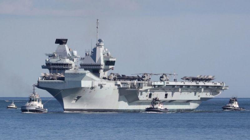 Đội tác chiến tàu sân bay của Anh tiến vào Biển Đông, Trung Quốc sẵn sàng tác chiến?