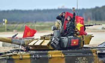 army games 2021 chinh thuc khai mac tuyen xe tang viet nam quyet tam doat cup