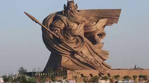 Trung Quốc di dời tượng Quan công sao không nhờ