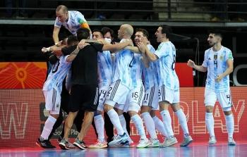 world cup futsal 2021 nga khong the phuc han argentina