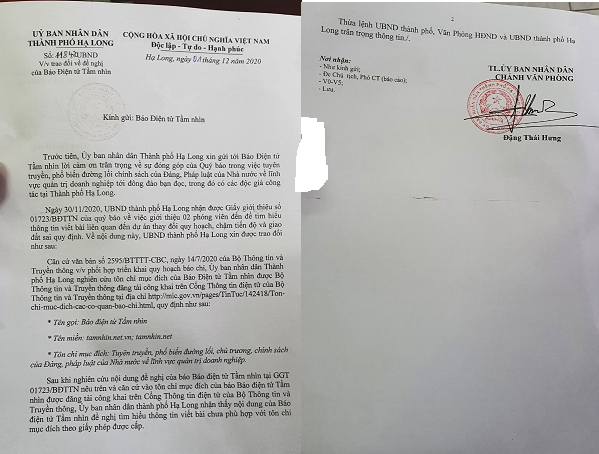 Hạ Long, Quảng Ninh: Khi cơ quan công quyền không hiểu luật,