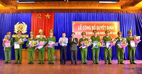 Tỉnh Kon Tum: 348 Công an chính quy đảm nhận các chức danh Công an xã.