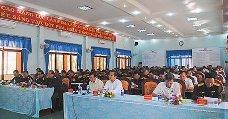 Kon Tum: Hội nghị tổng kết công tác quốc phòng, quân sự năm 2018 và triển khai nhiệm vụ năm 2019