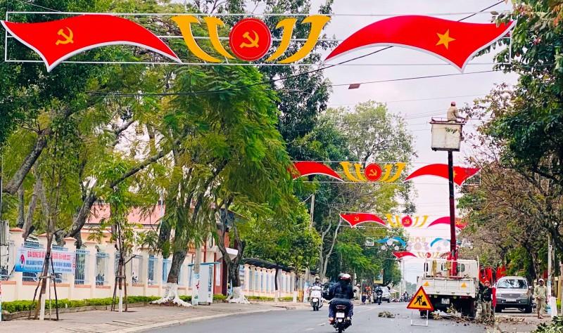 Kon Tum: Chỉnh trang đô thị chào mừng Đại hội đại biểu toàn quốc lần thứ XIII của Đảng