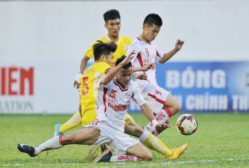 Bán Kết U.19 Quốc gia 2019: HAGL vàHà Nội giành chiến thắng thuyết phục