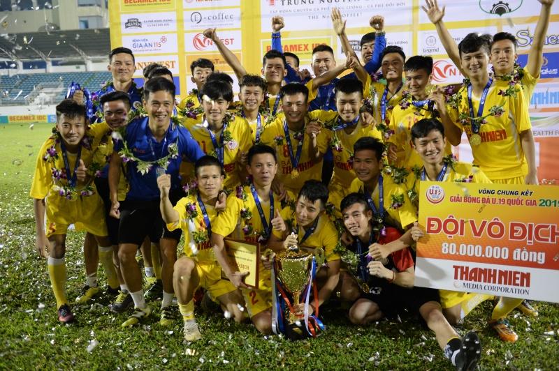 Đánh bại U19 HAGL 1-0, U19 Hà Nội đoạt chức vô địch
