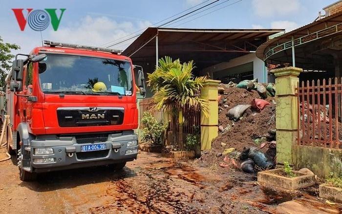 Gia Lai: Cháy kho hồ tiêu được mua bảo hiểm 19 tỷ đồng