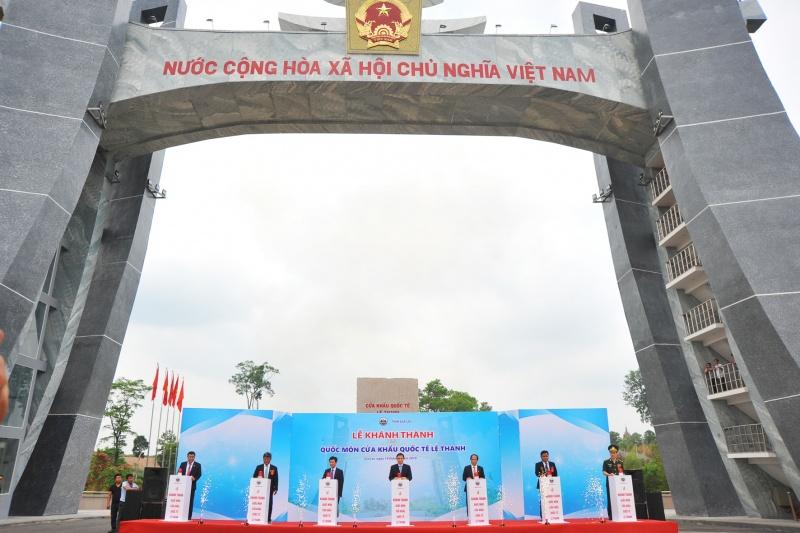 Gia Lai: Khánh thành Quốc môn -Cửa khẩu Quốc tế Lệ Thanh