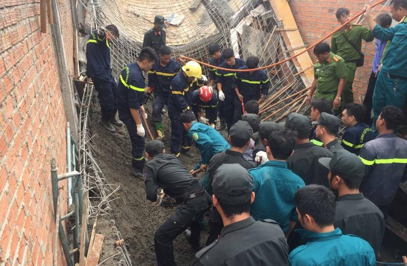 Gia Lai: Sập giàn giáo khi đang thi công, chủ thầu tử vong