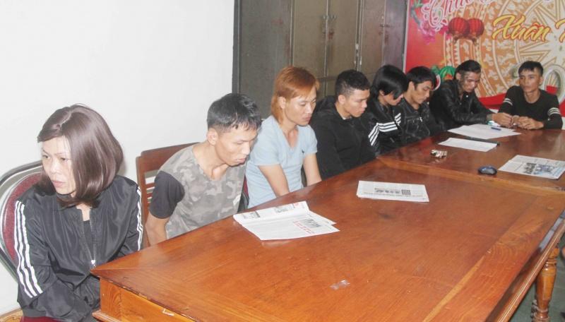 Gia Lai: Triệt phá tụ điểm bán ma túy, bắt 10 đối tượng