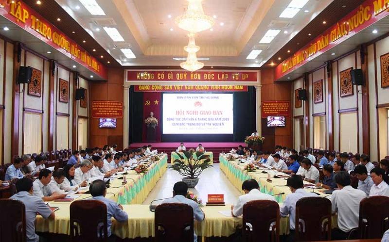 Gia Lai: Giao ban công tác dân vận cụm Bắc Trung bộ và Tây Nguyên
