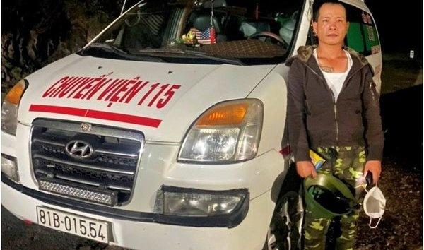 Gia Lai: Tài xế xe cứu thương không bằng lái, dương tính với ma tuý