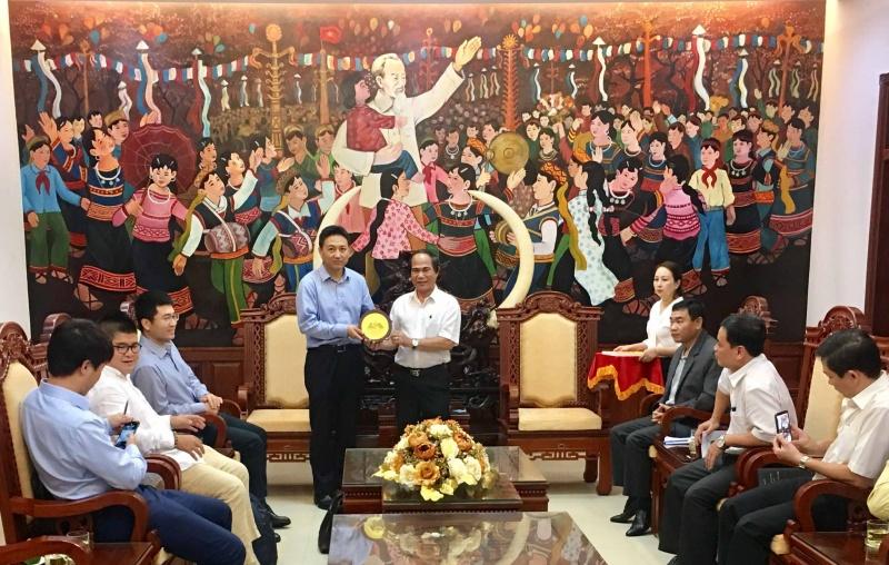 Chủ tịch UBND tỉnh Gia Lai tiếp nhà đầu tư dự án điện gió