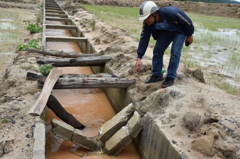 Gia Lai: Công trình thủy lợi hơn trăm tỉ chưa nghiệm thu bàn giao đã hư hỏng nghiêm trọng