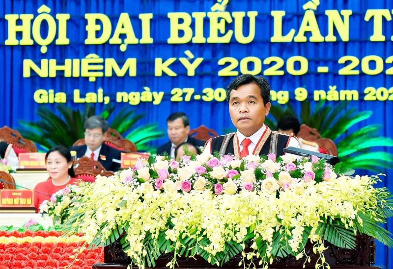 Đồng chí Hồ Văn Niên được bầu giữ chứcBí thư Tỉnh ủy Gia Lai khóa XVI