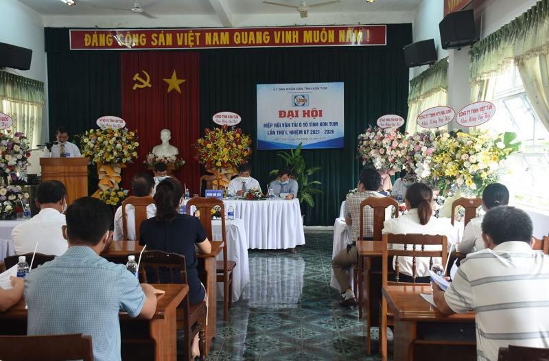 Kon Tum: Tổ chức Đại hội Hiệp hội vận tải ô tô tỉnh lần thứ I nhiệm kỳ 2021-2026