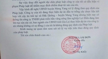 gia lai cong ty thay nguoi dai dien nhung giam doc khong hay biet