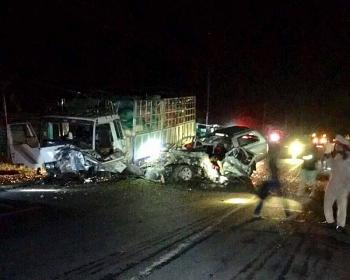 Gia Lai: Tai nạn thảm khốc ở H. Chư Pưh, 3 người chết, 3 người bị thương