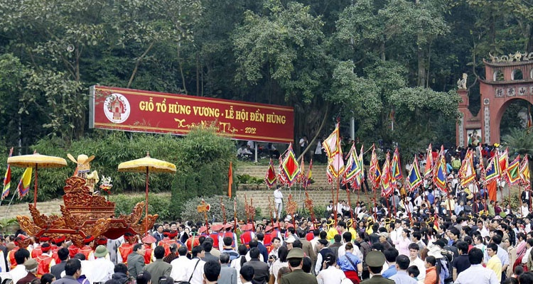 Giỗ Tổ Hùng Vương - Lễ hội Đền Hùng năm nay chỉ tổ chức phần Lễ