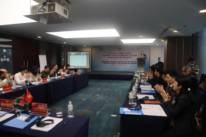 Tăng cường hợp tác khu vực về phòng, chống mua bán người trong khuôn khổ ASEANAPOL