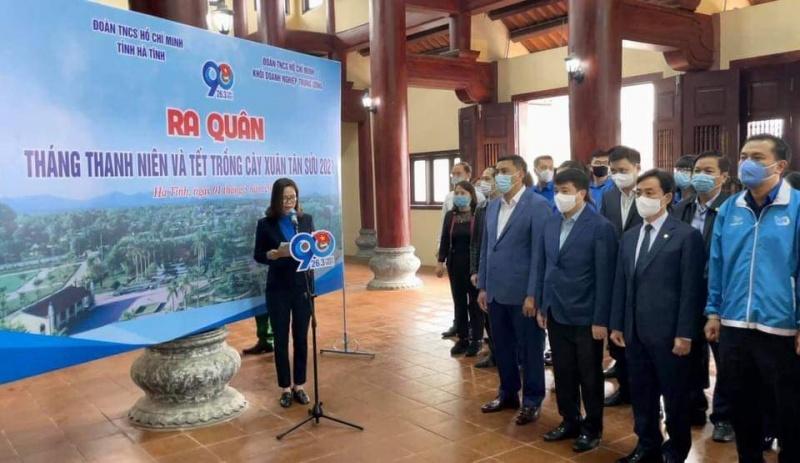 Đoàn Khối Doanh nghiệp Trung ương khởi động Tháng Thanh niên 2021