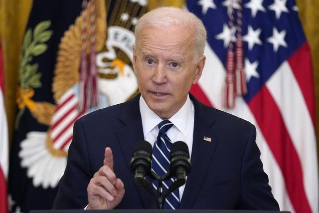 Tổng thống Mỹ Joe Biden lần đầu tiên chủ trì họp báo
