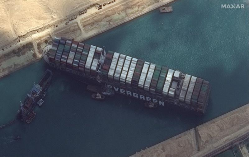 Tắc nghẽn tại kênh đào Suez gây khủng hoảng lớn tới lưu thông hàng hoá toàn cầu