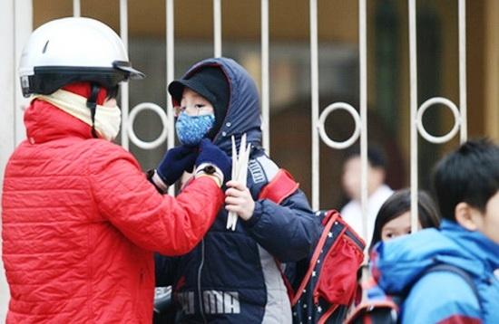 Bắc Bộ rét đậm rét hại, không khí lạnh ảnh hưởng đến Trung Trung Bộ