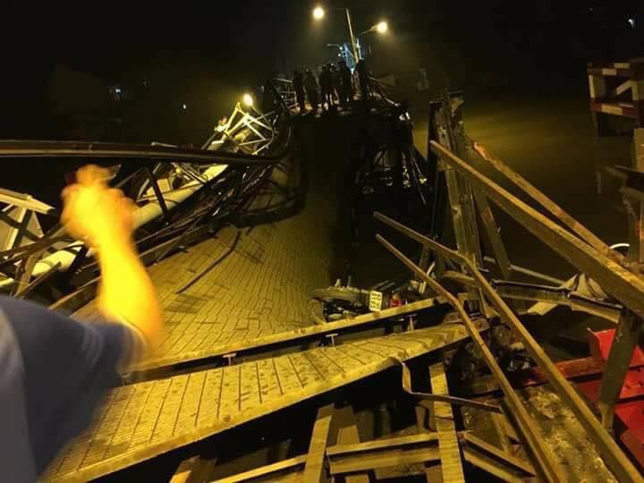 Cố điều khiển xe quá tải đi qua làm sập cầu Long Kiển: Tài xế nói gì?