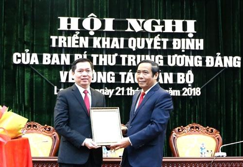 Phân công 2 nguyên Bí thư TƯ Đoàn tham gia Ban Thường vụ Tỉnh ủy Lạng Sơn, Bình Định