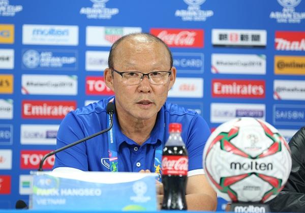 HLV Park Hang-seo tiếc nuối khi ĐT Việt Nam để thua phút cuối