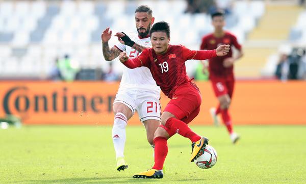 Chơi tốt, ĐT Việt Nam vẫn chưa thể tạo được bất ngờ trước đội bóng số 1 châu Á