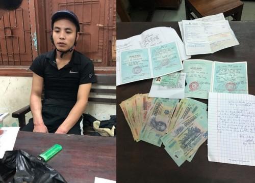 Đà Nẵng: Bắt nam thanh niên chuyên cho vay nặng lãi