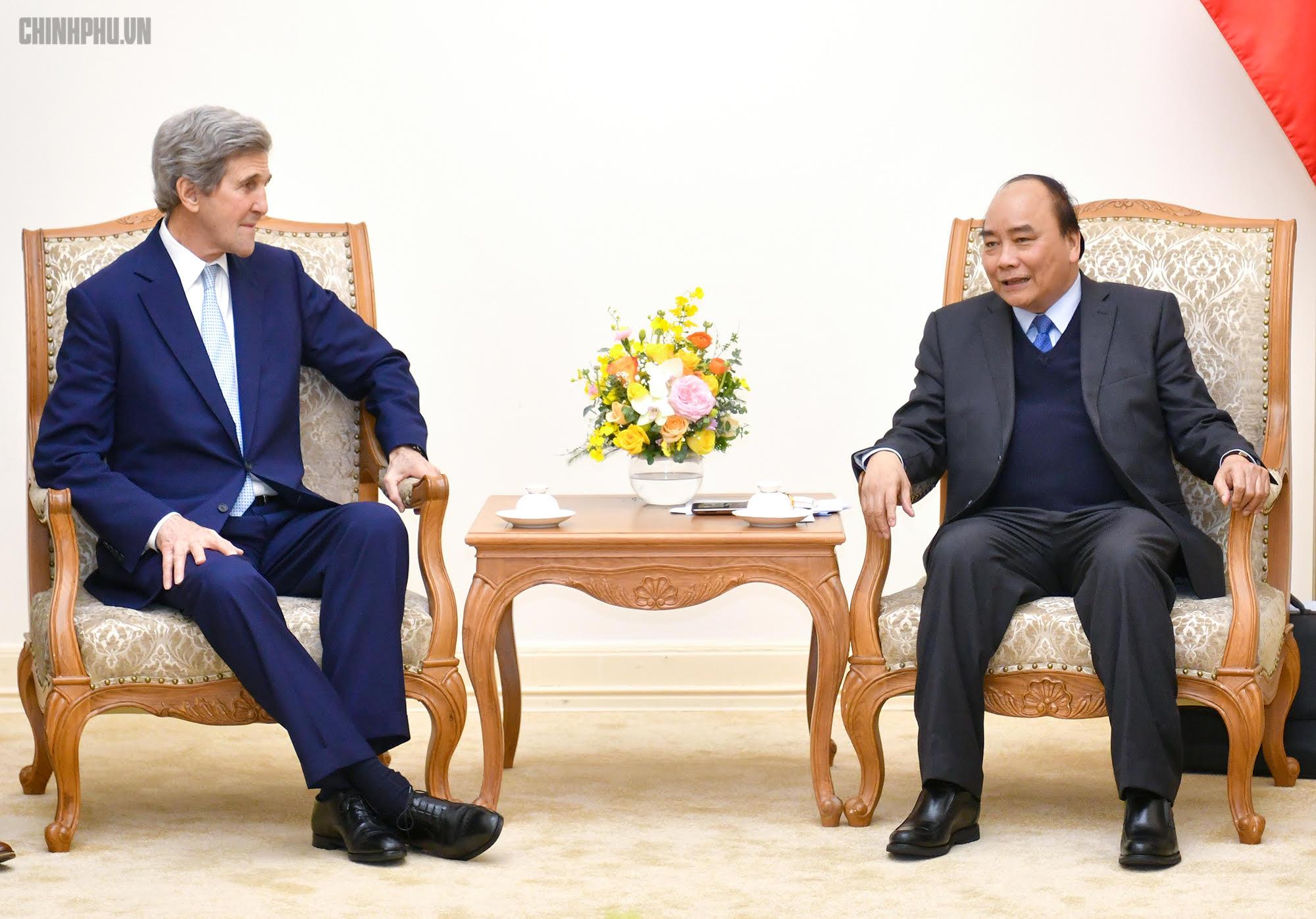 Thủ tướng tiếp cựu Ngoại trưởng Hoa Kỳ