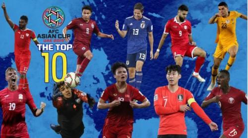 Quang Hải lọt top 10 cầu thủ xuất sắc nhất vòng bảng Asian Cup 2019