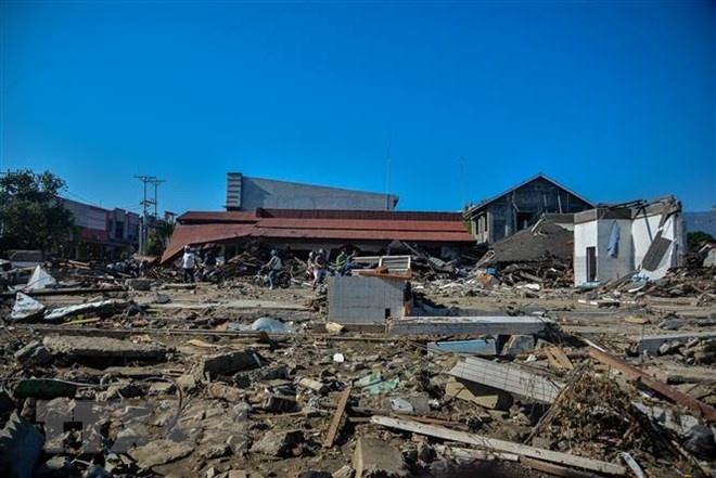 Thêm một trận động đất mạnh làm rung chuyển miền Trung Indonesia