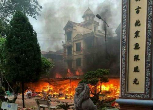 Hé lộ nguyên nhân gây cháy ở đền Mẫu Đồng Đăng vào sáng mùng 5 Tết