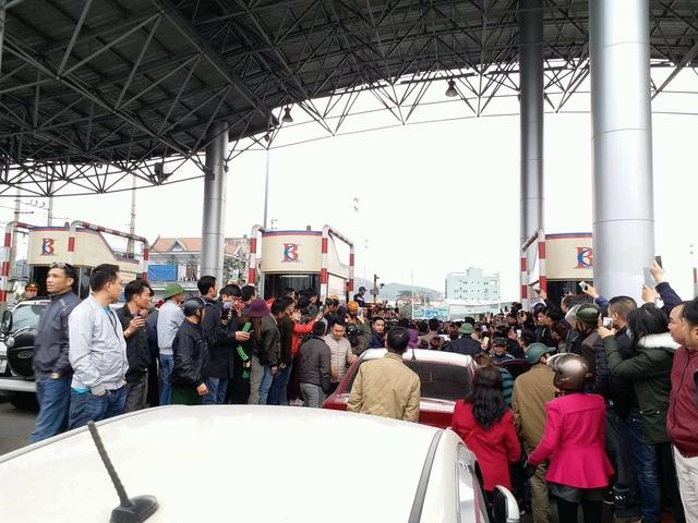 Vụ 'gây rối' ở trạm BOT Biên Cương: Quảng Ninh đề nghị công an vào cuộc điều tra